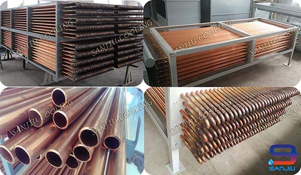 red copper for cooling tower